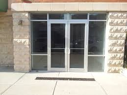 exterior design modern and stylish storefront door design with