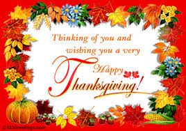 wishing you and your family a happy thanksgiving festival