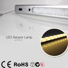 motion sensor under cabinet lighting 30 led smd 5050 pir motion sensor l closet kitchen led under