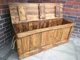 Storage Chest Bench Storage Long Rustic Trunk Bench Chest Blanket Box End Of