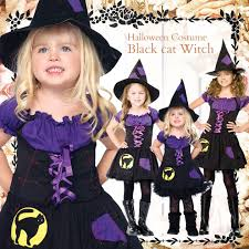 Black Cat Halloween Costume Kids Love Baby Rakuten Global Market Leg Avenue Black Cat Witch