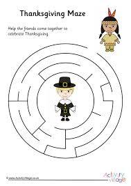 thanksgiving mazes