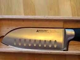 anolon kitchen knives free anolon santoku knife