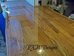 How Do You Polyurethane Hardwood Floors - remodelaholic easy butcher block countertop tutorial