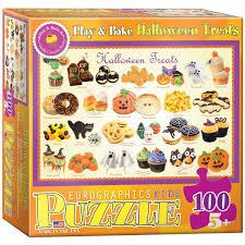 amazon com halloween treats puzzle 100 piece toys u0026 games