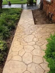 Pictures Of Stamped Concrete Walkways by Stamped Concrete Patterns Difelice Stamped Concrete