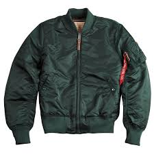 alpha industries ma 1 vf 59 flight jacket in 10 colours