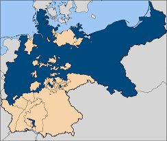 German States Map Can Someone Please Explain The Prussia Germany Relationship