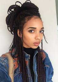 braid styles for thin black hair 35 awesome box braids hairstyles you simply must try fashionisers