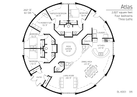 2 827 square feet four bedrooms three baths house plans