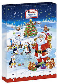 advent calendar kinder mini mix advent calendar 152g grocery