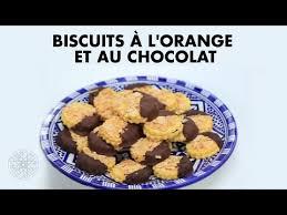 choumicha tv cuisine choumicha biscuits à l orange et au chocolat choumicha recettes