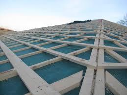 tetto padiglione ventilazione e isolamento termico coperture in legno lamellare
