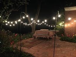 Led Patio Light Idea Patio Lights String And Garden Lights String Bulbs Outdoor