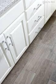 Gray Tile Kitchen Floor by Happy Floors North Wind Grey 9 In X 36 In Porcelain Wood Look