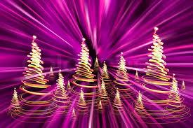 color christmas lights as very nice christmas tree stock photo