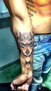 35 astonishing geometric wolf tattoos amazing ideas
