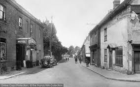 Baldock Blinds Baldock Church Street 1925 Francis Frith