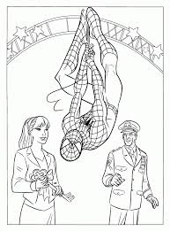 free spiderman coloring pages doctor octopus free coloring