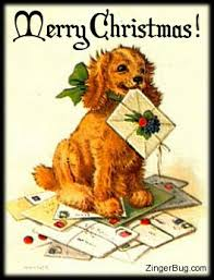 Cute Christmas Meme - christmas puppy glitter graphic greeting comment meme or gif
