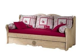 canape gigogne bois banquette lit gigogne aravis meubles