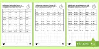addition primary resources ks1 calculation and page 1