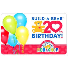 20th birthday celebration gift card