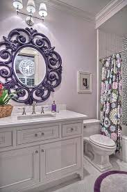 Purple Bathroom Curtains Purple Bathroom Purple Is An Extremely Energetic Color This