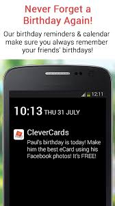 clevercards birthday cards android apps on google play