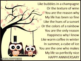 wedding quotes or poems anniversary poems for happy anniversary poems for