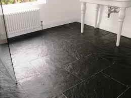 slate floor tiles bathroom room design ideas