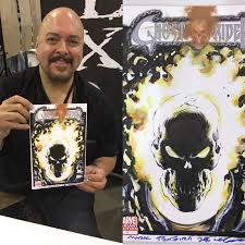 cgc 9 8 ghost rider 15 sketch cover recreation by mark texeira in
