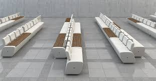Lounge Benches Lounge Bench For Train Stations Airports And Public Spaces Made
