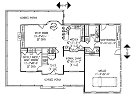Farm House Plans by Farmhouse Style House Plan 4 Beds 2 50 Baths 2198 Sq Ft Plan 11 214