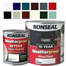 ronseal ebay listing weatherproof 10 year exterior wood paint