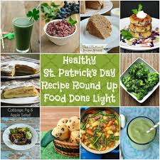 healthy st patricks day recipe round up food done light