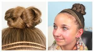 hairstyles youtube simple updo hairstyles simple braided bun updo cute girls hairstyles