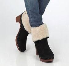 womens ugg lynnea boots womens ugg australia lynnea boots black size 5 ebay