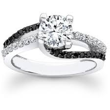 white and black diamond engagement rings black and white diamond engagement rings perhanda fasa