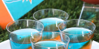 best miami dolphins jell o shots recipe how to make miami dolphins