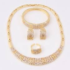 gold earrings price in pakistan 18 carat gold plated costume set for