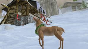 real rudolph the red nosed reindeer flying
