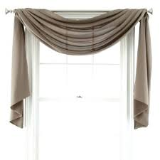 Sheer Curtains With Valance Sheer Swag Curtains Valances Living Room Curtains For