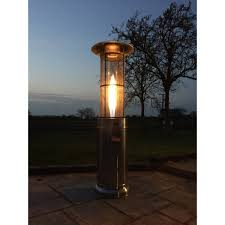 small patio heaters propane santorini mini flame gas patio heater free weather cover
