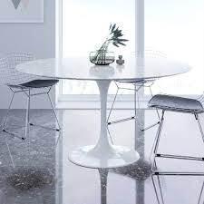 Dining Table Ls Saarinen Tulip Marble Dining Table