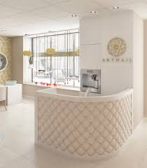 Hairdressing Reception Desk Things On Salon Reception Desk Awesome Storage Remodelling