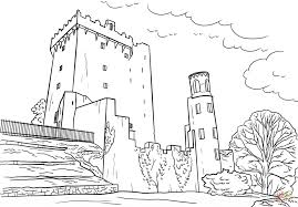 blarney castle coloring free printable coloring pages