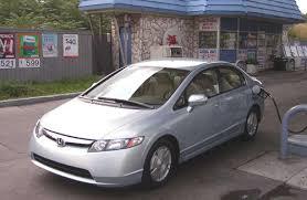 gas mileage for 2007 honda civic 2007 honda civic hybrid mileage cars com
