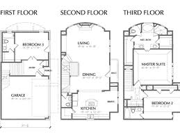 Three Story Townhouse Floor Plans Africa House Plans House Plans