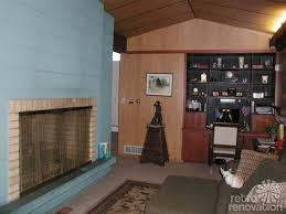 paint colors for a fireplace in kathy u0027s mid century modern house